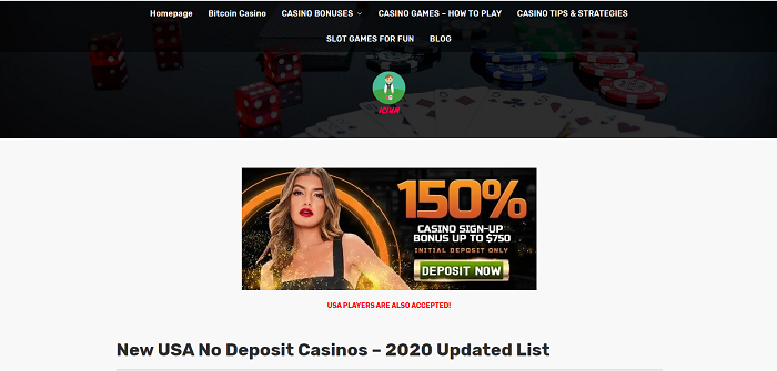 new usa no deposit casinos