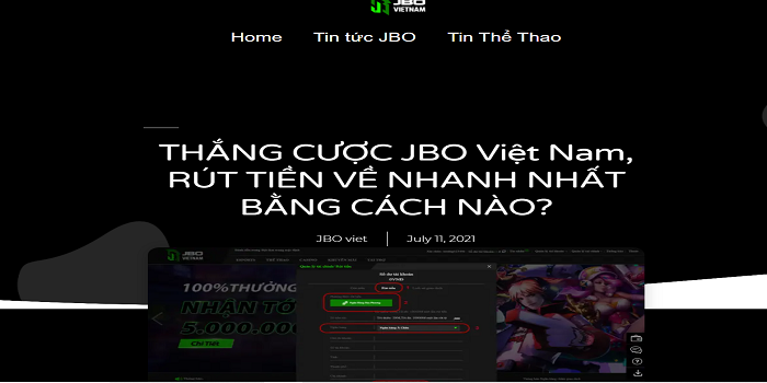JBO VIETNAM